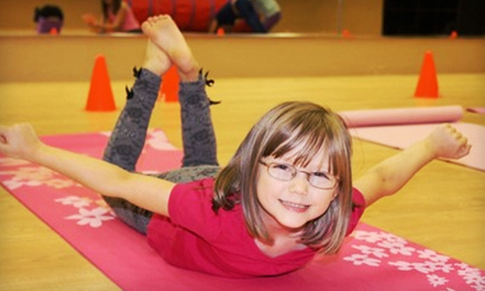Family Fitness World - Sherwood Park: Six- or Eight-Week Kids' Fitness or Music-and-Movement Program at Family Fitness World (Up to 58% Off)