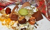 Chamak Artisan Chocolates & Confections - The Market At First Colony: Chocolates or Party for Six at Chamak Artisan Chocolates & Confections (Up to 48% Off). Three Options Available.