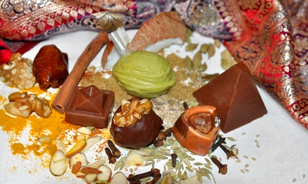 Chocolates or Party for Six at Chamak Artisan Chocolates & Confections (Up to 51% Off). Three Options Available.