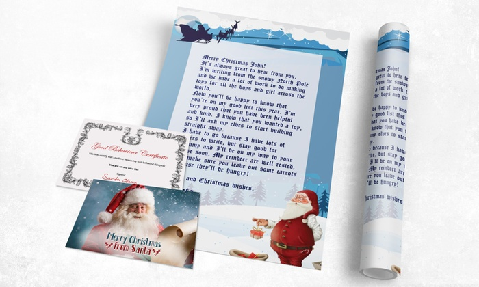 Printerpix: Custom Santa Letters from $5 by Printerpix (Up to 83% Off)