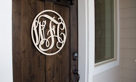 $25 for One 18-Inch Vine Wall-Art Monogram from CraftCuts.com ($50 Value)