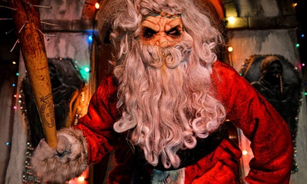 General Admission to a Christmas-Themed Haunted House at Brighton Asylum (37% Off). Two Options Available.