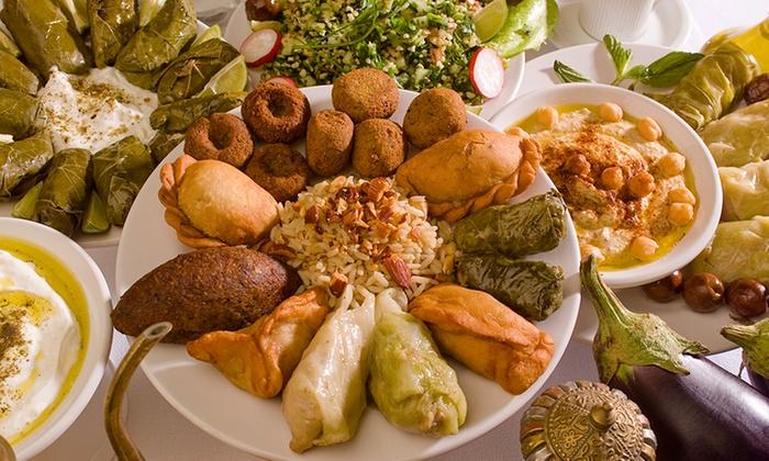il cedro ristorante libanese bergamo italia menu libanese con tris di antipasti