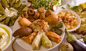 Il Cedro Ristorante Libanese: Menu libanese con tris di antipasti, piatto principale, dolce e bibita per 2 o 4 persone da Il Cedro (sconto fino a 66%)