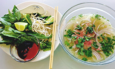 Vietnamese Meal with Fountain Drinks for Two or Take-Out at Red Snapper Seafood & More (Up to 46% Off)