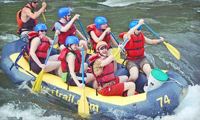 River & Trail Outfitters - Knoxville: Rafting and Bike Adventure for One, Two, or Four from River & Trail Outfitters in Knoxville (Up to Half Off)