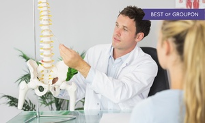 Allied Chiropractic Center: Chiropractic Exam Package and Massage with 1 or 3 Adjustments at Allied Chiropractic Center (Up to 72% Off)