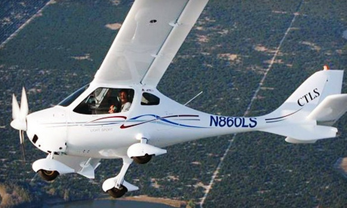 Racine Sport Flyers - Caledonia: $75 for a Hands-On Discovery Flight in a Light Sport Aircraft from Racine Sport Flyers ($155 Value)
