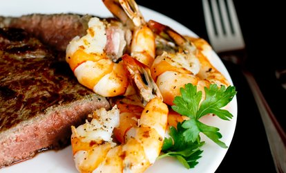 image for Surf and Turf for Two or Four at The Hardwick Arms Hotel