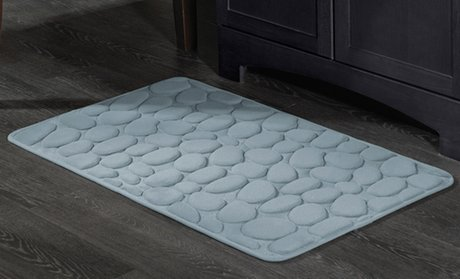 Pebble Memory Foam Bath Mat (17