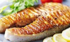 Pont de Ferr: Menu di pesce con calice di vino per 2 o 4 persone al ristorante Pont de Ferr (sconto fino a 70%)
