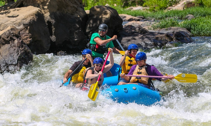 Riverside Outfitters - Richmond: Lower River Rafting Trip for One or Two from Riverside Outfitters (46% Off)