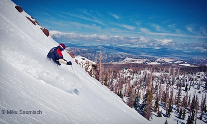 Brian Head Resort - Parowan: All-Day Skiing and Snowboarding for One or Two Adults or One or Two Seniors or Kids at Brian Head Resort (Up to 45% Off)