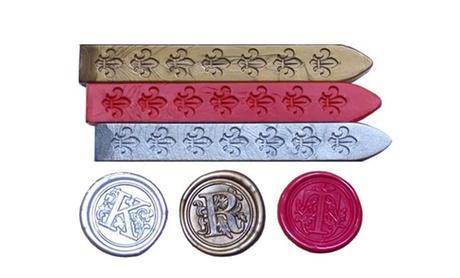 Custom Wax Seal Set or Wax Refills (Up to 50% Off)