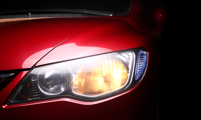 Utah Mobile Auto Glass - Salt Lake City: Headlight Restoration for One or Two Headlights from Utah Mobile Auto Glass (Up to 52% Off)