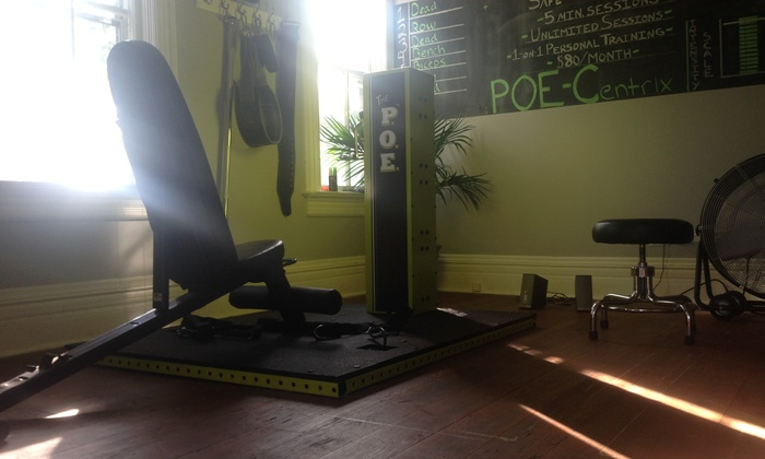 Poe-centrix - Lake Zurich: One-Month Membership with a Personal-Training Session at POE-Centrix (75% Off)