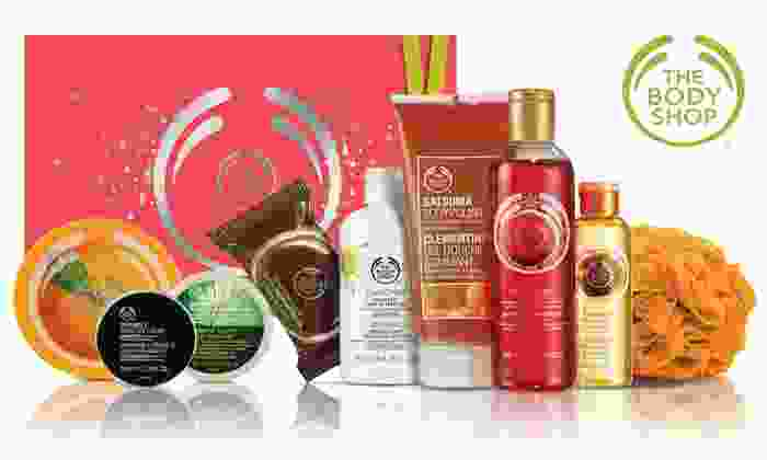 The Body Shop - Multiple Locations: $15 for $30 Worth of Natural Skincare, Gifts, Makeup, Hair, Fragrance and Body Care Products at The Body Shop.
