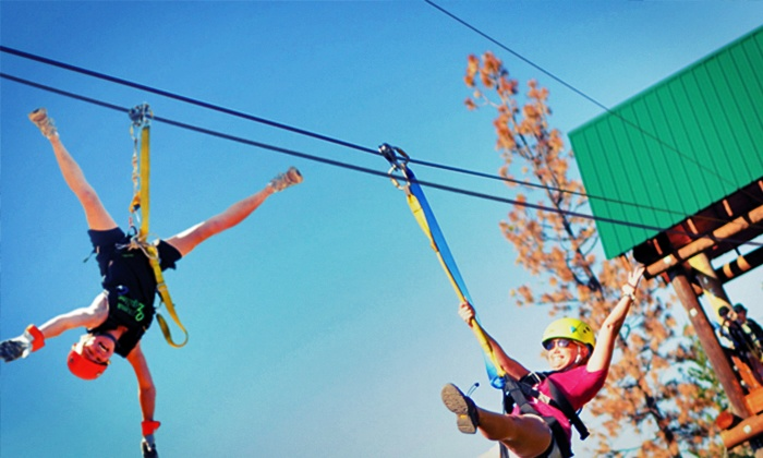Oyama Zipline Forest Adventure - Kelowna: Three-Hour All-Inclusive Ziplining Adventure for Two or Four at Oyama Zipline Forest Adventure (Up to 37% Off)