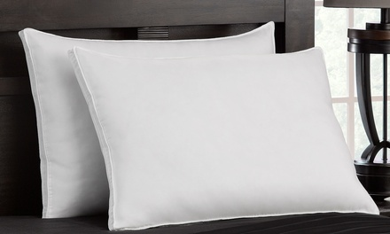 Firm Exquisite Hotel Down-Like Gel Pillows, All Sizes Same Price (2-Pack)