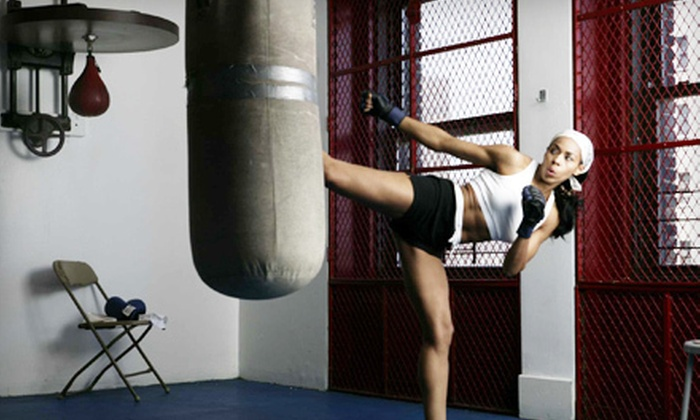 Kick Fever Fitness - Boerum Hill: Four or Eight Kickboxing Classes at Kick Fever Fitness (Up to 78% Off)