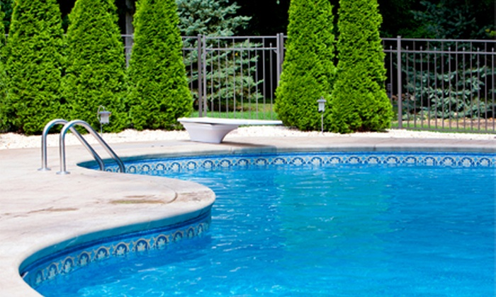 The Pool House - Northwest Side: Four Weeks of Pool Cleaning Service or $20 for $40 Worth of Pool Supplies from The Pool House (Up to 55% Off)