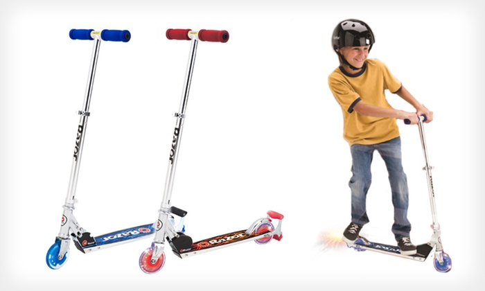 Up To 51 Off A Razor Scooter Groupon