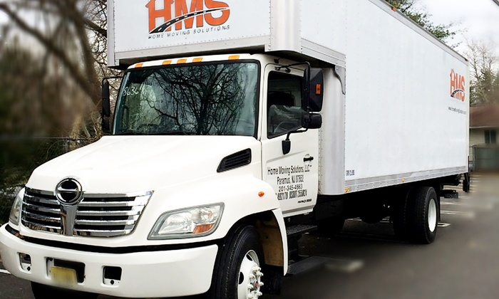 Home Moving Solutions - North Jersey: Two Hours of Moving Services from Home Moving Solutions (45% Off)