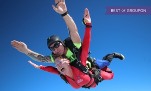 Skydive Spaceland - Atlanta: Tandem Skydiving for One or Two with Optional HD Video/Photos at Skydive Spaceland (Up to 35%Off)