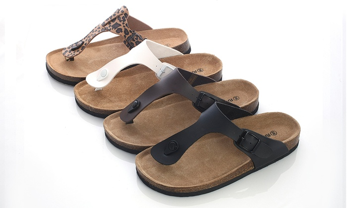 6a3ebebc14f Rasolli Women s Footbed Sandals