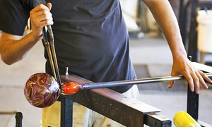 Franklin Glassblowing Studio: Flower or Heart Glass-Blowing Workshop for One or Two at Franklin Glassblowing Studio (Up to 56% Off)