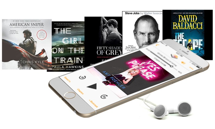 Audible: $2.95 Per Month for First Three Months of Audible Membership ($44.85 Value)