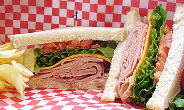 Options Deli - North Vancouver: Two or Four Groupons, Each Good for $15 Worth of Deli Sandwiches, Barbecue, and Breakfast at Options Deli (53% Off)