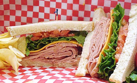 Two or Four Groupons, Each Good for $15 Worth of Deli Sandwiches, Barbecue, and Breakfast at Options Deli (53% Off)