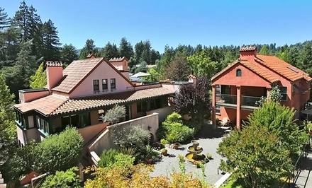 groupon daily deal - 1- or 2-Night Stay for Two in a Cozy Room at Applewood Inn in Sonoma County, CA. Combine Up to 10 Nights.