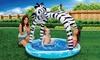 Banzai Shade 'N Sun Children's Animal Pool: Banzai Shade 'N Sun Children's Animal Pool