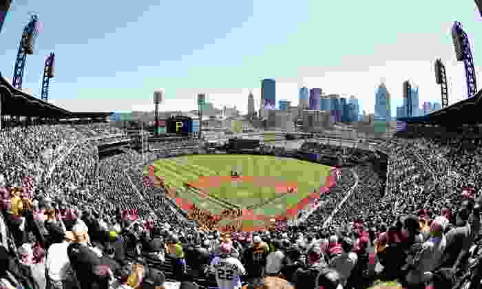 Pittsburgh Pirates - PNC Park: Pittsburgh Pirates Game at PNC Park with Dates in May and June (Up to 33% Off). Four Seating Options Available.