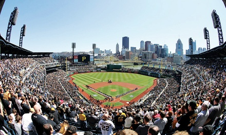 Pittsburgh Pirates Game at PNC Park with Dates in July and August (Up to 33% Off). Four Seating Options Available.