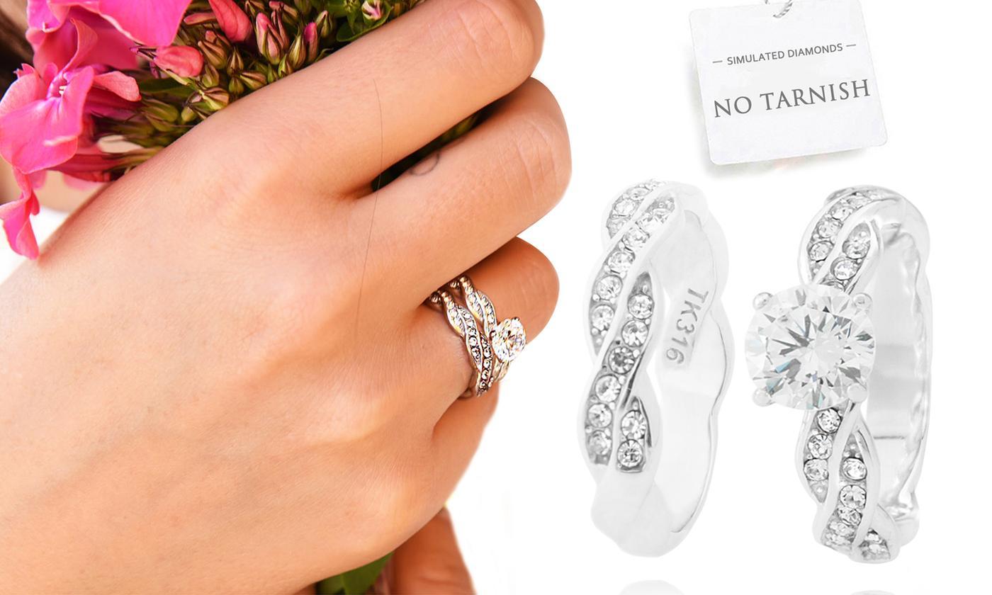 Ah! Jewellery Twisted or Braided Twist Ring