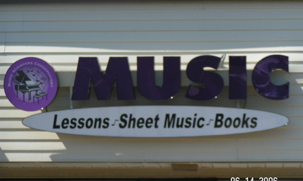 Four Private Music Lessons from Music Achievers Conservatory (41% Off)