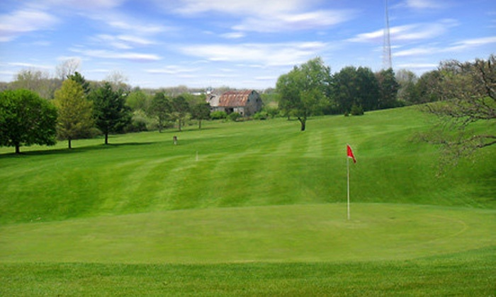 Country Meadows Golf Resort - Jamestown: Round of Golf with Cart Rental and Snacks for Two or Four at Country Meadows Golf Resort (Up to 52% Off)