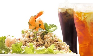 Thai Basil Kitchen: $17 for $30 Worth of Food for Two or More People at Thai Basil Kitchen