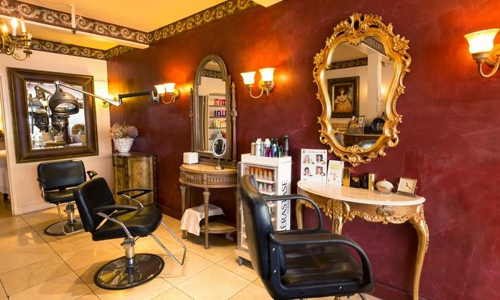 Lu Lu Salon & Skin Care - Russian Hill: Keratin Treatment, Haircut, or Haircut with Partial Highlights at Lu Lu Salon & Skin Care (Up to 74% Off)