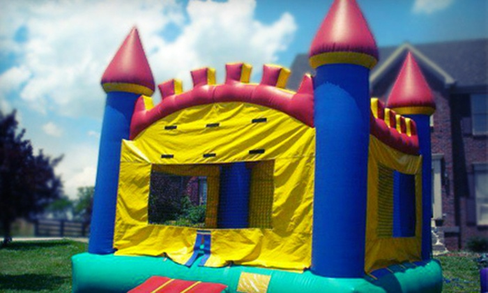 Heads Up Inflatables - East Louisville: Bounce-House Rental, Inflatable-Waterslide Rental, or Both from Heads Up Inflatables (Up to 56% Off)
