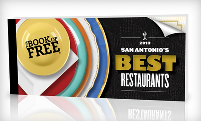 The Book of Free: Best Restaurants: $39 for the Book of Free 2013 Gift-Certificate Book with Shipping ($79 Value)