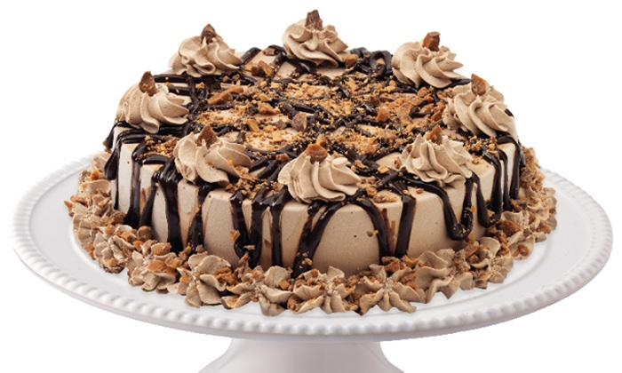 Marble Slab Creamery - Multiple Locations: One Small or Large Ice-Cream Cake in 10 Available Flavours at Marble Slab Creamery (Up to 53% Off)