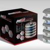 Steel Bolts 600-Piece Hardware Caddy