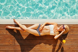 The Tanning Salon: One Week of Unlimited Tanning at The Tanning Salon (64% Off)