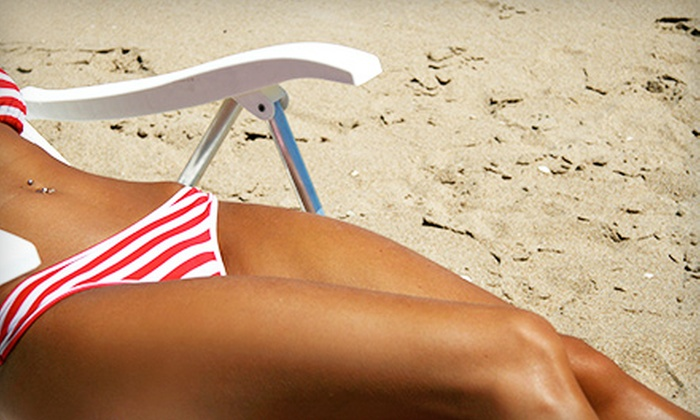 American Image Salon & Spa - Chesterfield: One or Three Summer Spa Packages with a Spray Tan and Bikini Wax at American Image Salon & Spa (Half Off)