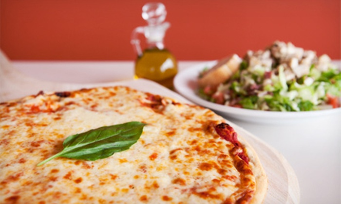 The Drawing Room Pizza Pub - Upper Providence: Pizzeria Cuisine or Catering at The Drawing Room Pizza Pub (Half Off)