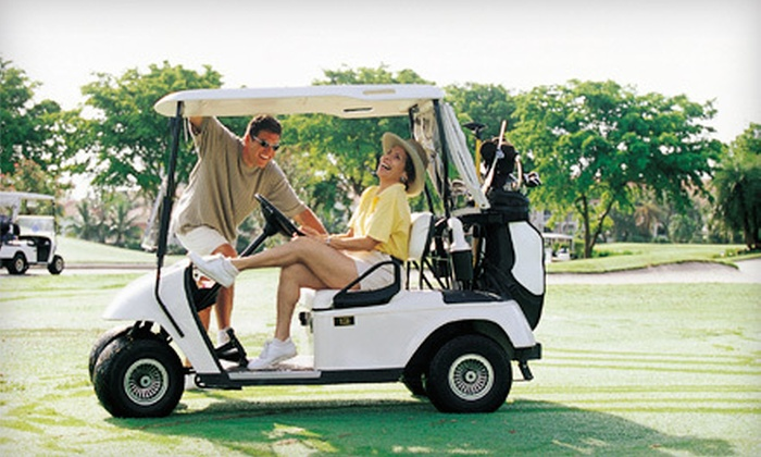 Creek Golf Club - Spartanburg: $28 for an 18-Hole Round of Golf for Two with Cart and Range Balls at Creek Golf Club ($74 Value)
